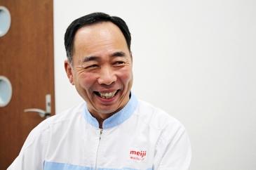 「私たちは明治からザバスの製造を一手に引き受けています。ザバスを作るオンリーワンの会社であるという誇りがあります」と藤木社長。